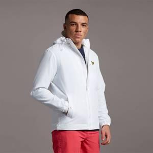Zip Through Hooded Jacket - White