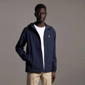 Zip Through Hooded Jacket - Dark Navy