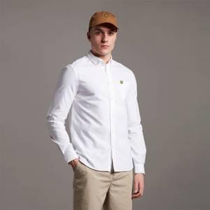 Regular Fit Light Weight Oxford Shirt - White