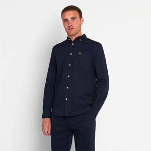 Regular Fit Light Weight Oxford Shirt - Dark Navy