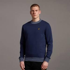 Multi Tipped Sweatshirt - Navy