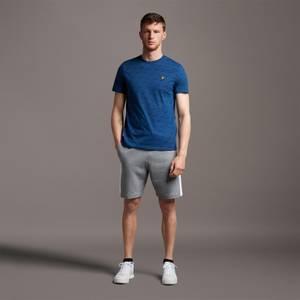 Side Panel Sweat Shorts - Mid Grey Marl