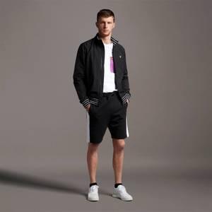 Side Panel Sweat Shorts - Jet Black