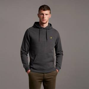 Pullover Hoodie - Charcoal Marl