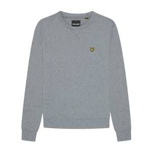 Crew Neck Sweatshirt - Mid Grey Marl