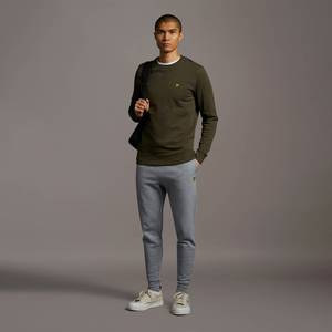 Skinny Sweatpant - Mid Grey Marl
