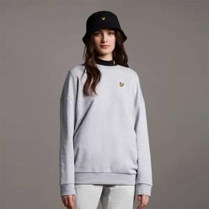 Oversized Sweatshirt - Light Grey Marl