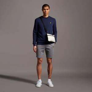 Fly Fleece Shorts - Mid Grey Marl