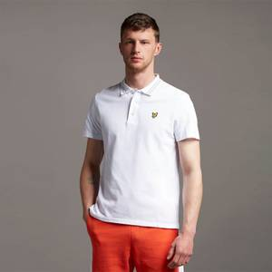 Wide Tipped Polo - White