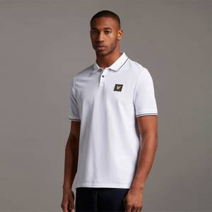 Casuals Tipped Polo Shirt - White