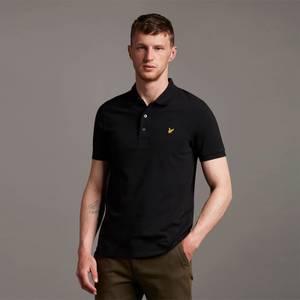 Plain Polo Shirt - Jet Black