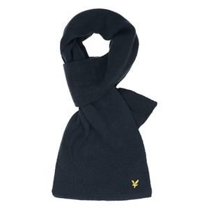 Racked rib scarf - Dark Navy - One Size