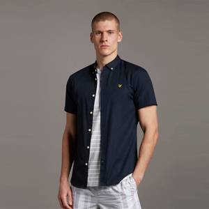 SS Slim Stretch Shirt - Dark Navy