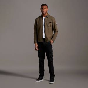 Casuals Cargo Trousers - Jet Black