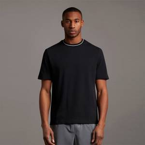 Casuals Tipped T-shirt - Jet Black