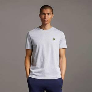 Plain T-Shirt - Light Grey Marl