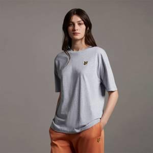 Oversized T-shirt - Light Grey Marl