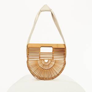 Cult Gaia Women's Gaia Ark Small Shoulder Bag - Off White