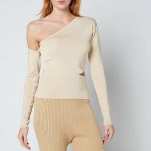 Cult Gaia Women's Teri Knit Top - Sand