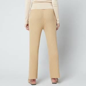 Cult Gaia Women's Jada Knit Pant - Sand