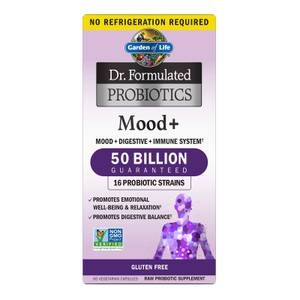 Garden of Life Microbiome Mood+ Vegetarian Capsules - 60 Capsules-Subscription