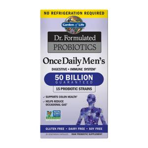 Garden of Life Microbiome Once Daily Men's - 30 Capsule Subscription