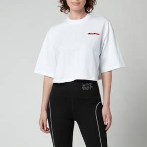 MSGM ActiveWomen's Crop T-Shirt - Optical White