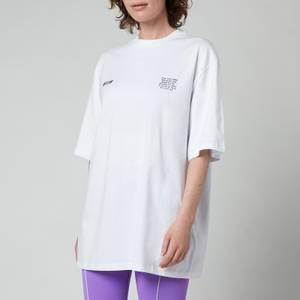 MSGM ActiveWomen's Small Logo T-Shirt - Optical White