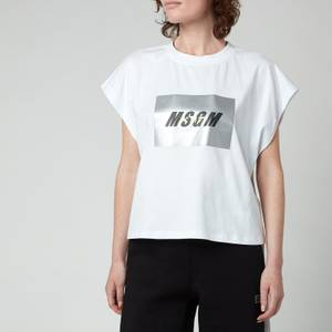 MSGM ActiveWomen's Sleeveless T-Shirt - Optical White