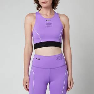 MSGM ActiveWomen's Sports Bra - Purple