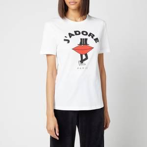 Être Cécile Women's J'Adore Classic T-Shirt - White