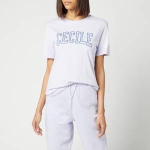 Être Cécile Women's Cecile Varsity Classic T-Shirt - Orchard