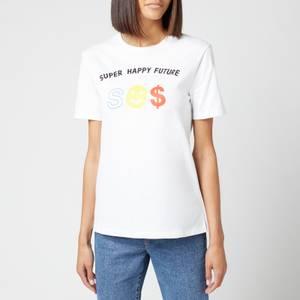Être Cécile Women's Super Happy Future Classic T-Shirt - White