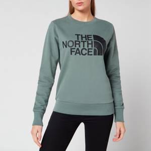 The North Face Women's Standard Crew Sweatshirt - Light Green