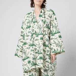 Baum Und Pferdgarten Women's Abi Dress - Harbourscape Green