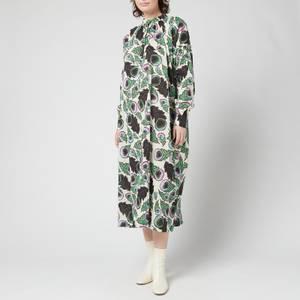 Baum Und Pferdgarten Women's Apria Dress - Autumn Leaves Green