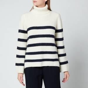 Baum Und Pferdgarten Women's Chikita Jumper - Blue White Stripe