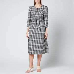 Baum Und Pferdgarten Women's Akela Dress - Black White Suckercheck