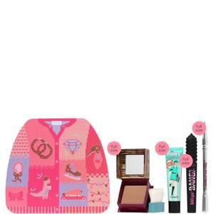 benefit Exclusive Winter Glammin' Gift Set - LOOKFANTASTIC Exclusive