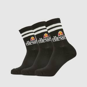 Pullo 3Pk Socks Black