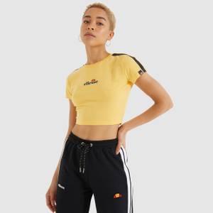Latus Cropped T-Shirt Yellow