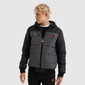 Brenta Padded Jacket Dark Grey Marl