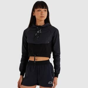 Lysa Crop Hoody Black