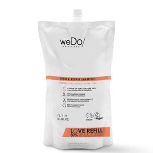 weDo/ Professional Rich and Repair Shampoo Pouch 1000ml