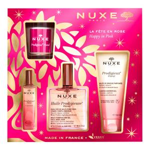 NUXE Huile Prodigieuse Floral Happy in Pink® Gift Set