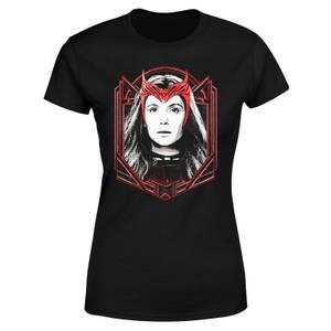 PIAB EXC Marvel Wandavision The Scarlet Witch Women's T-Shirt - Black