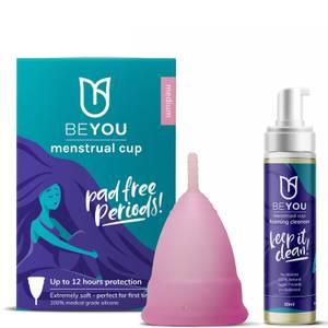 BeYou Menstrual Cup Starter Kit - Medium