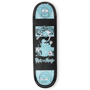 Rick And Morty Dust! Exclusive SkateBoard Deck - Portal Reach