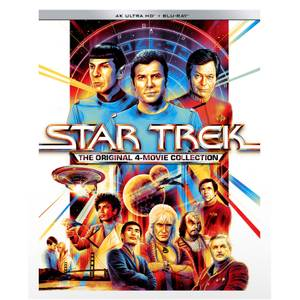 Star Trek: The Original 4-Movie 4K Ultra HD Collection (Includes Blu-ray)