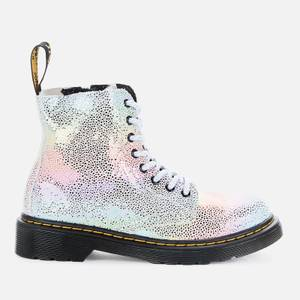 Dr Martens Kids' 1460 Pascal Lace Up Boots - Rainbow Kidray